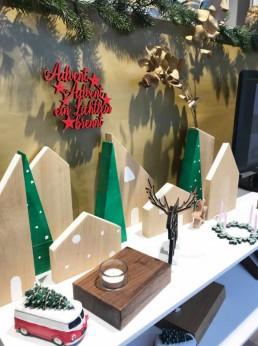 weihnachten Deko Schaufenster kempen krefeld willich