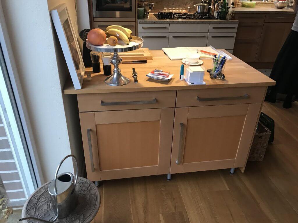 Kochinsel, Küche, Kochen